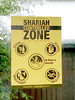 "Londres : ""You are entering a shariah-controlled zone"""