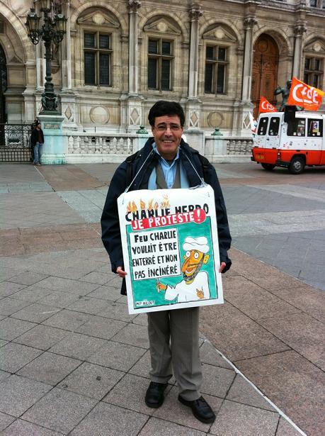 Manif de soutien à Charia Hebdo
