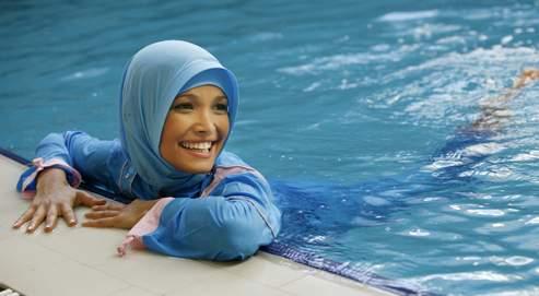 Mode pour femmes musulmanes , creation de burkini par Hasema