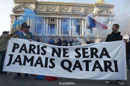 Paris ne sera jamais qatari 2