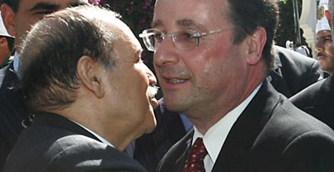 Hollande et Bouteflika