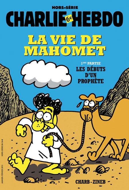 Charlie Hebdo bio Mahomet