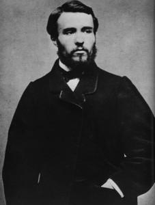 Georges Clemenceau, à 21 ans, à sa sortie de prison en 1862