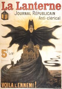 La Lanterne, journal anticlérical