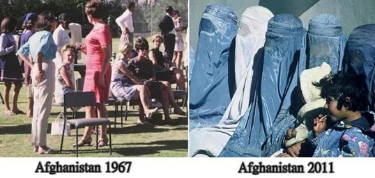AFGHANISTAN 1967 et 2011