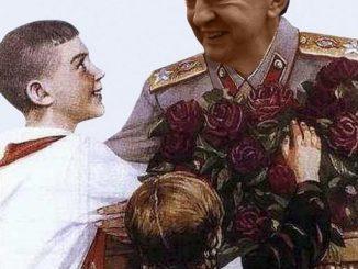Melenchon-staline1