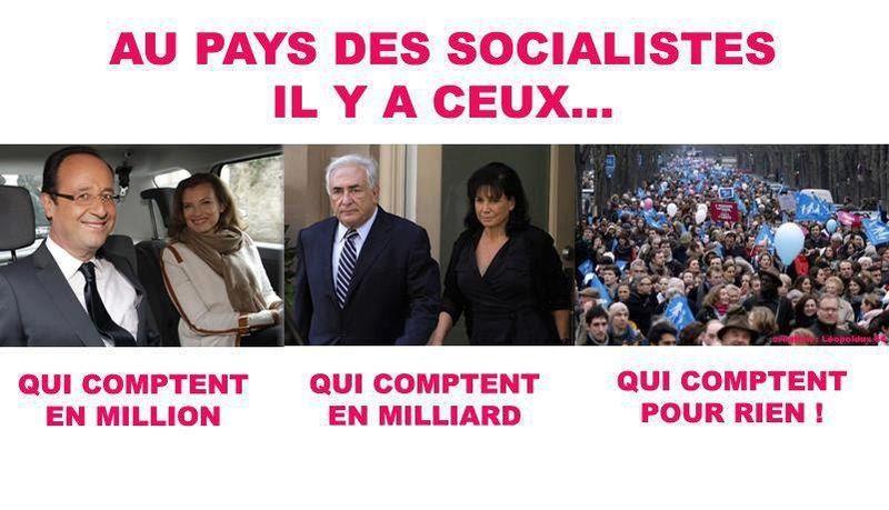 AU  PAYS DES SOCIALISTES ...