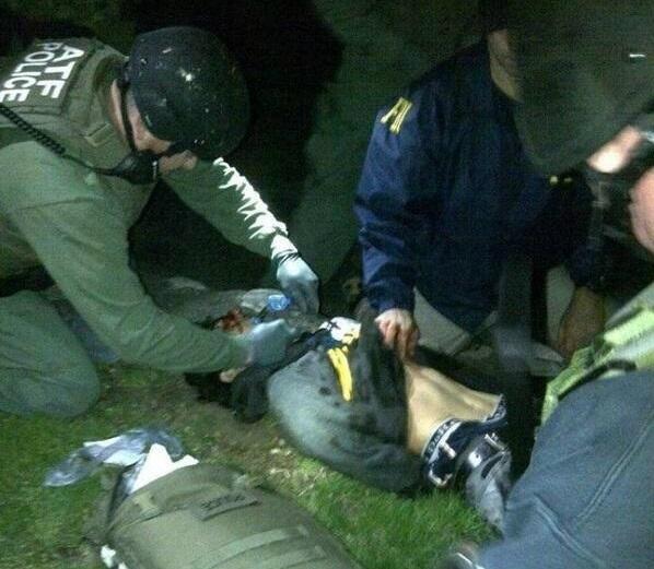 Dzhokhar Tsarnaev arrete 19-04-13 REDUIT