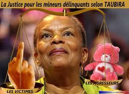 La JUSTICE SELON TAUBIRA