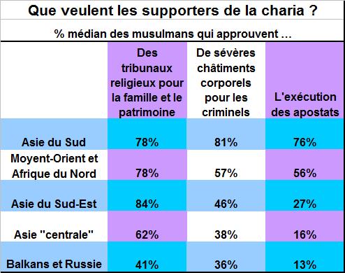 1 - Que veulent les supporters de la charia