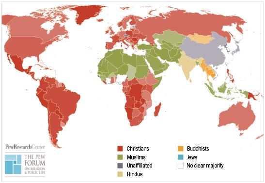 3 - Carte globale