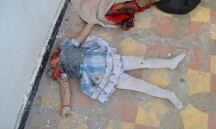 Christian girl beheaded by ISIS terrorists in Iraq 08-2014