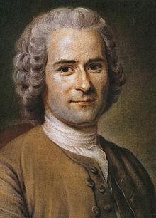 Rousseau, philosophe patriotique genevois, auteur du Contrat Social