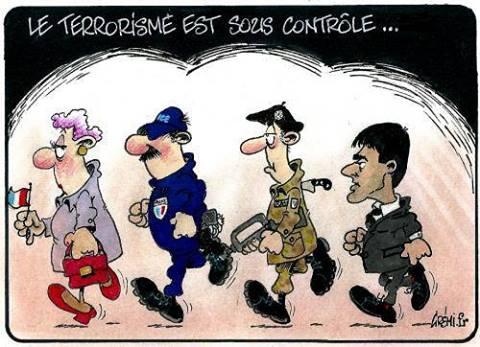 LE TERRORISME EST SOUS CONTROLE !