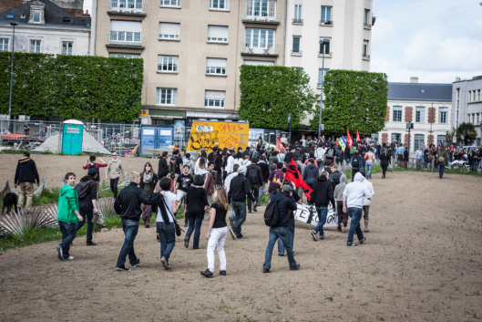 LMPT Rennes 5 mai 2013 gauchos veulent casser