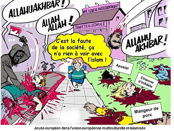 RIEN A VOIR AVEC L'ISLAM