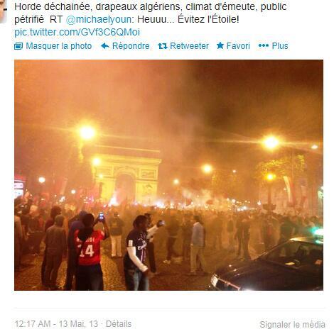 Soir de victoire du PSG 12 mai 2013 2