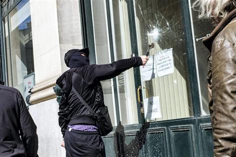 Casseur antifa Manif 23 juin 2013