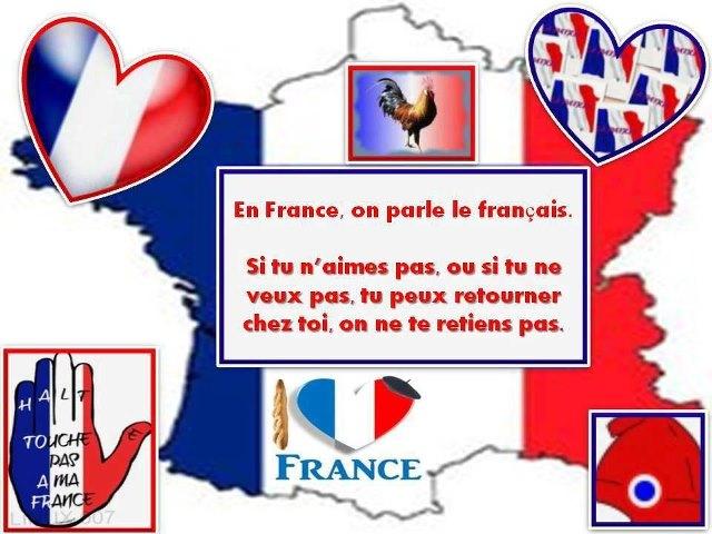 EN FRANCE ON PARLE FRANCAIS