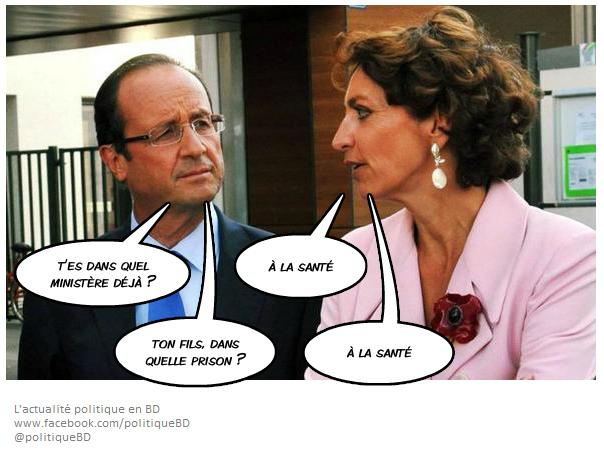 Hollande et Marisol Touraine