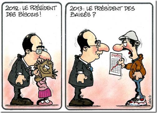 HOLLANDE 2012 et 2013