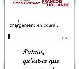 HOLLANDE CHARGEMENT EN COURS
