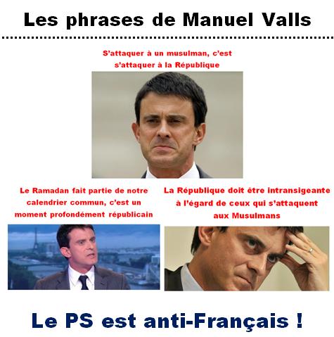 Les phrases islamocollabos de Manuel Valls