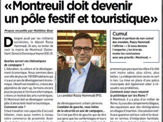 Montreuil doit devenir festif et touristique
