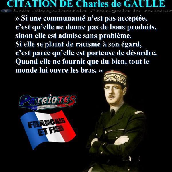 CITATION DE GAULLE