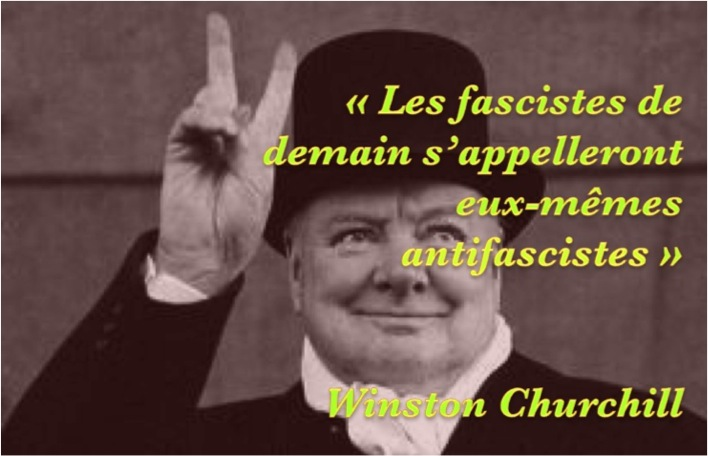 Churchill sur antifascistes