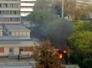 Incendie de poubelle JC Nanterre 3