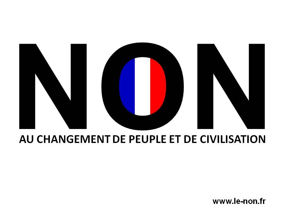 NON AU CHANGEMENT DE PEUPLE