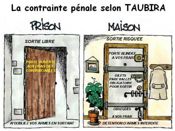 SORTIES maison prison