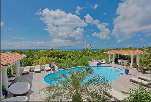 villa avec piscine 2