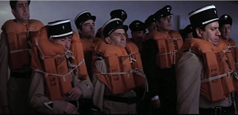 Gendarmes St Tropez et gilets