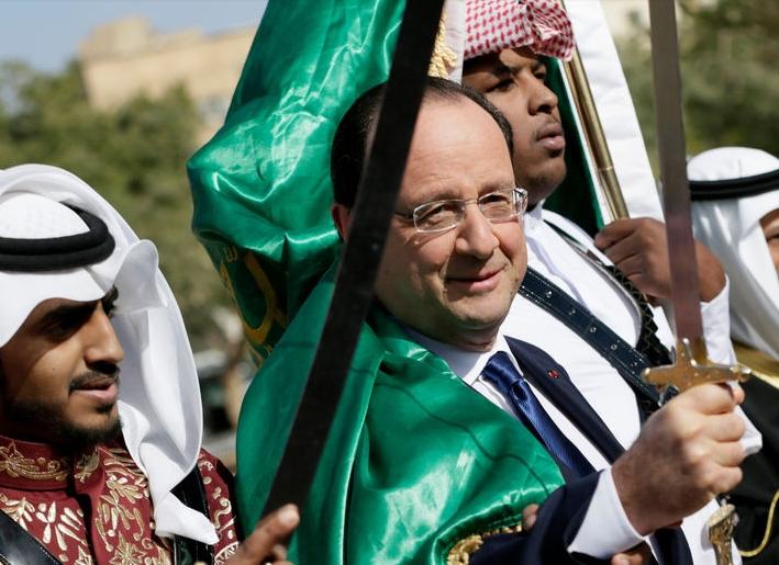 Hollande et le sabre islamique