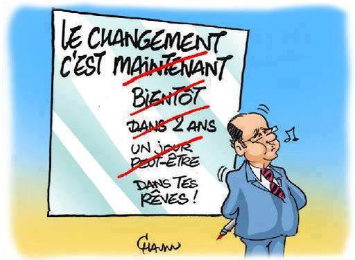 LE CHANGEMENT C'EST DANS TES REVES