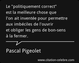 LE POLITIQUEMENT CORRECT