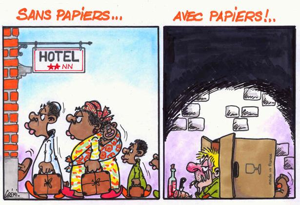 SANS PAPIERS - AVEC PAPIERS