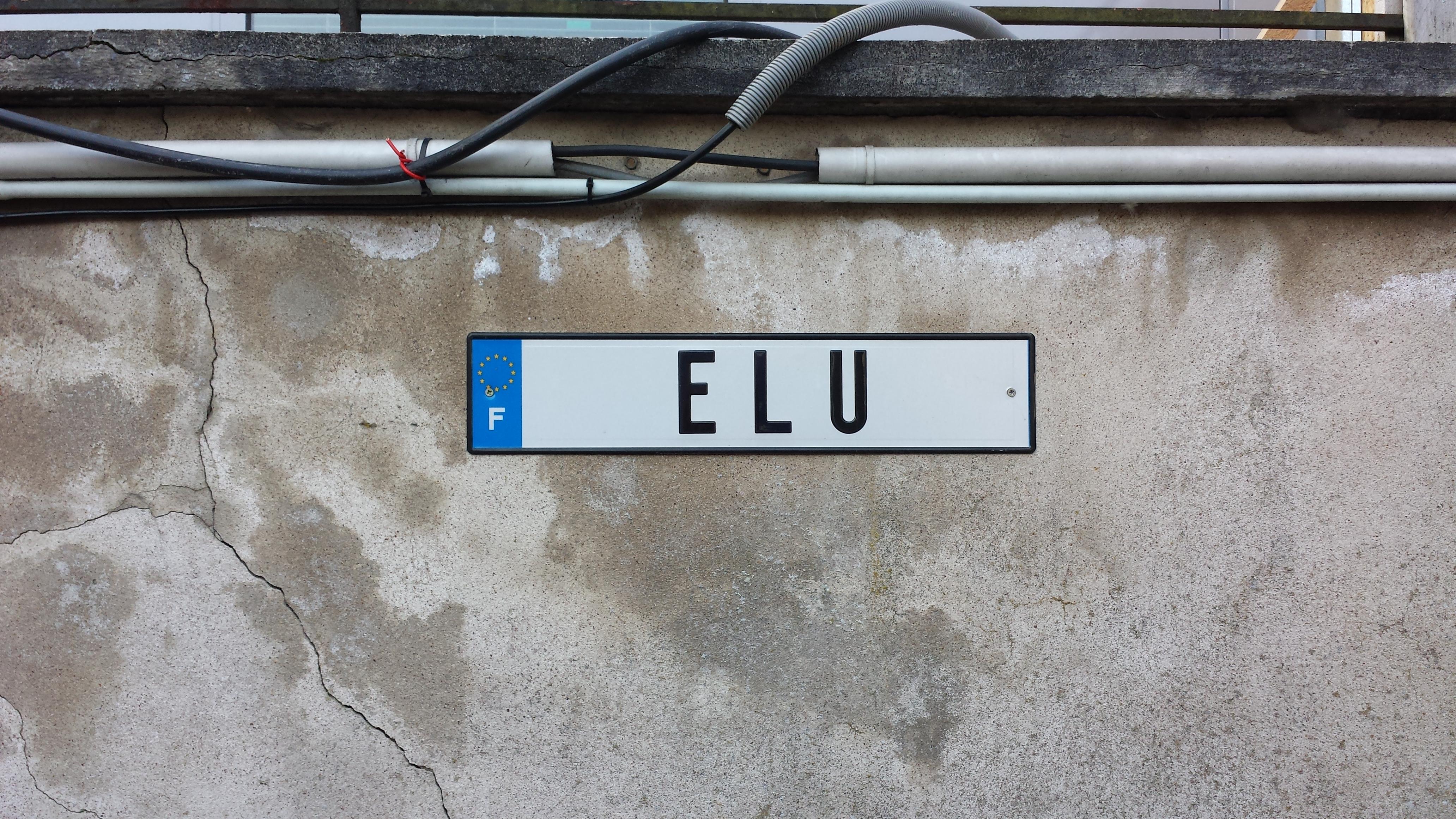 La place de parking du nouveau maire...
