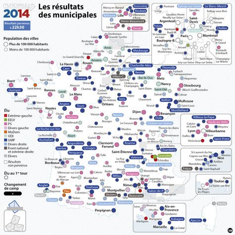 Municipales 2014 Tous Les Resultats Sur La Debacle Historique De
