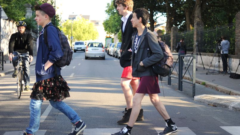 FRANCE-EDUCATION-WOMEN-GAY-RIGHTS
