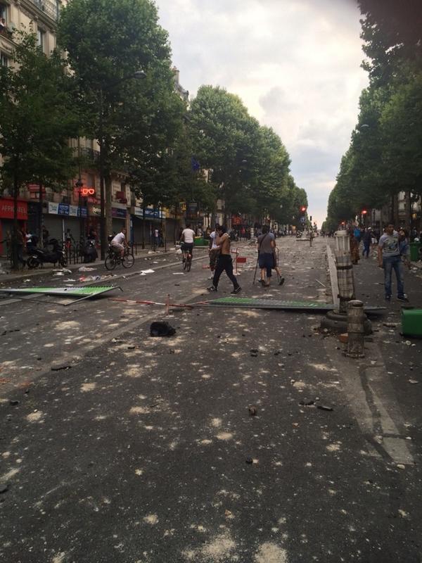 Le boulevard Barbès