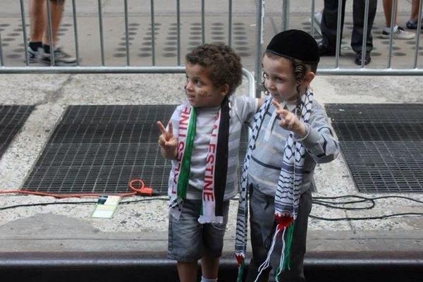 Enfants-palestinien-israelien