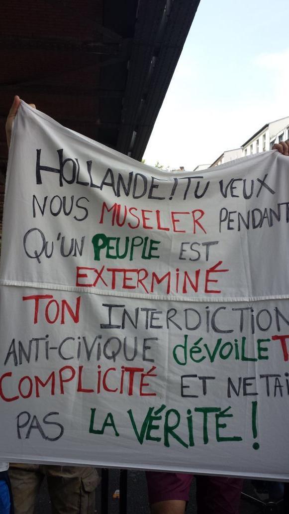 Hollande-banderole