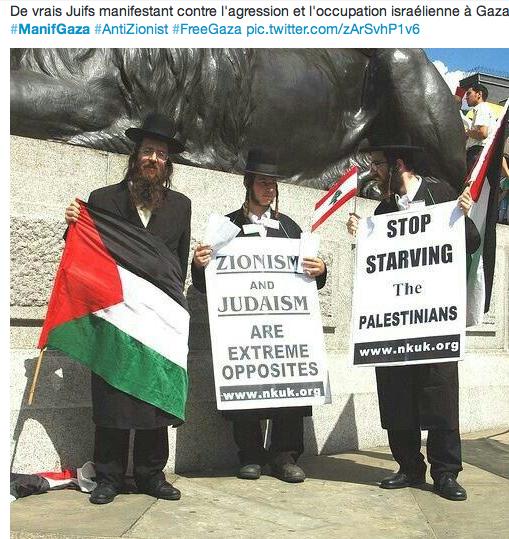 Juifs-defendant-la paix