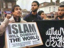 L'ambiton déclarée de l'islam. Ce qui souligne l'aveuglement des occidentaux