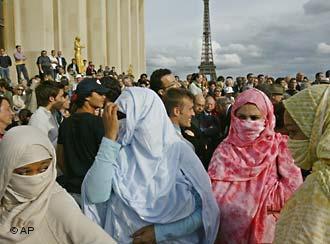 Manifestation de musulmane