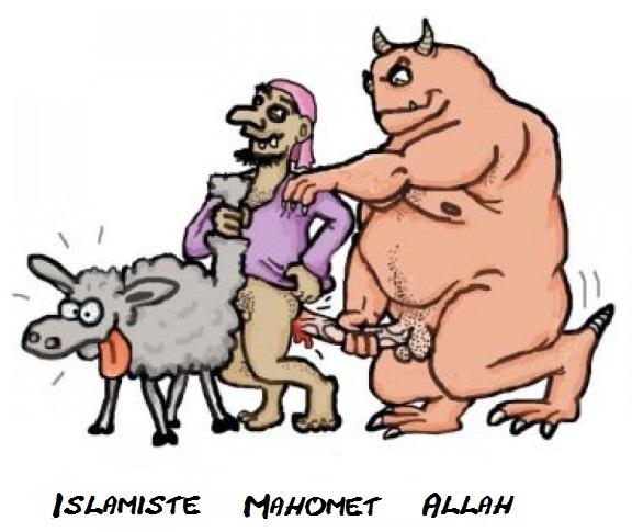 Allah-Mahomet-islamiste sodomie