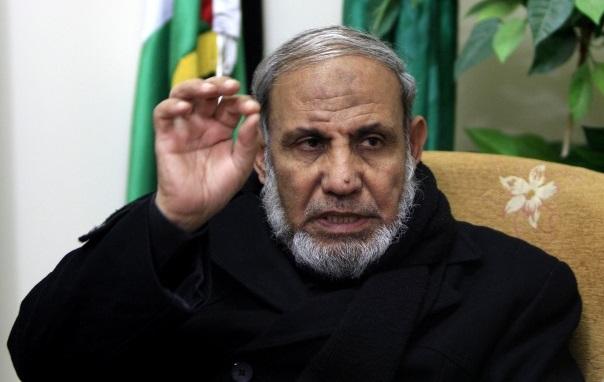 Mahmoud Al-Zahar foreign minister Hamas 1